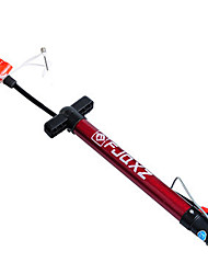 FJQXZ 31CM Stainless Steel Red Bike Pump