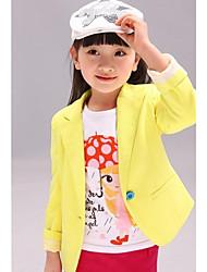 Girl's Cotton Suit & Blazer , Winter/Spring/Fall Long Sleeve