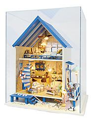 DIY Romantic Aegean Hand-assembled Construction Model
