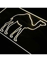 Camel Display Desert Animals Neon Light Sign