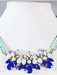 ЕТО Мода цвет мяты Ожерелье