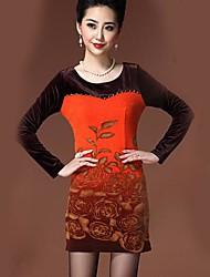 YIMAN® Women's Digital Print Dress