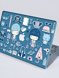 Pacers® Japanese Girl And Boy Scratch-resistant Full-body Skin Sticker for Retina MacBook Pro 15""