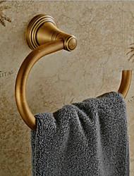 Vintage fini laiton antique Rétro anneau à serviette