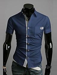 Diyan Men's Short Sleeve Shirt