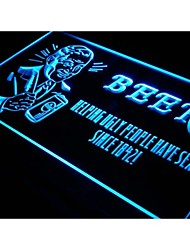 j305 Beer Helping Ugly People Have Sex Neon Light Sign