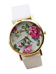 AiLan Vintage Floral Print Watch