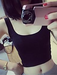 YiFanYiGui ™ kvinner Sexy koreansk stil High Waist Cotton Slim Vest
