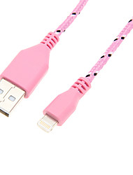 USB 2.0 a 8 pines teje Cable (100cm Azul Rosa)