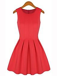 Женская Новое пространство ситцевое платье