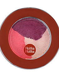 [Holika Holika] Jewel Light Shuffle Color Eyes 25g (3 Colors Eye Shadow)#9 Retro Red