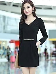 Señora delgada vestido de las mujeres ORG