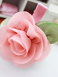 Красивые клипы цветок волос девушки (2шт)