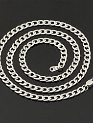 Women's Chain Necklaces Stainless Steel Titanium Steel Fashion Jewelry Wedding Party Daily Casual 1pc