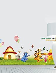 Frankie™ DIY Wall Stickers Animal Cartoon Child Happy