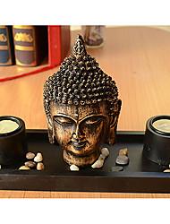 Будда Глава Металл Дизайн Подсвечник