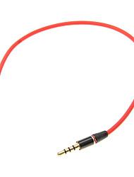 3.5mm 0,25 0.8FT auxiliaire AUX Audio Cable Jack mâle à mâle