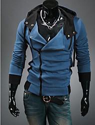 Повседневный - MEN - Толстовки ( Хлопок/Смешанная хлопковая ткань Толстовка - Длинный рукав