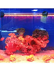 19CM Red Energy—saving Superbright LED Aquarium Light Fishbowl Diving Lights