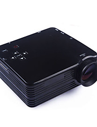 Mini HD accueil super brillant projecteur technologie LED, pc portable usb vga hdmi sd