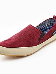 Canvas Men's Flat  Heel  Comfort Loafers  Shoes(More Colors)