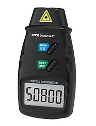 Victor DM6234P+ Non-contact Photoelectric Laser Digital Tachometer 5-digit Large LCD Rotate Speed Tester
