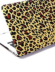 Leopard Patterns Patterns Folio Plastic Protective Hard Shell Case for Macbook Air 13""