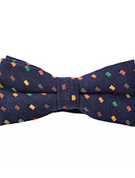 Royal Blue Platz Cotton Bow Tie