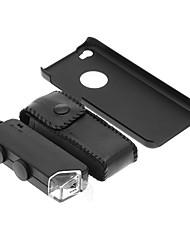 iPhone 5C Cell Phone Case e 100 volte lente di ingrandimento in Set