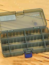 186 * 103 * 34MM Exército Verde Pesca Box caixa de equipamento