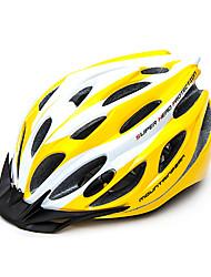 MTP 27 Vents EPS + PC Amarelo Branco Integralmente-moldados Capacete de Ciclismo (58-61cm)