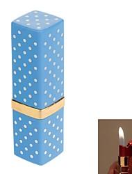 moda forma del lápiz labial de gas a prueba de viento encendedor de plástico