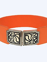 Women Wide Belt,Vintage Alloy All Seasons