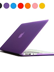 "Solid Color Frosted PC Hard Case for MacBook Air 13""(Assorted Colors)"