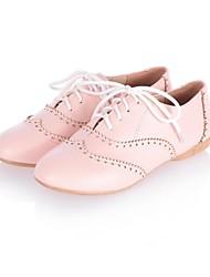El talón plano Comfort Ronda Oxfords Toe Zapatos de mujer (más colores)