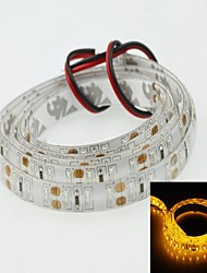 Waterproof Strip Light 100cm 3014smd 120led Yellow 7.5W 560-590nm DC12V IP65 Waterproof Strip Light