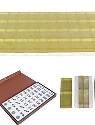 mini jouets de voyage cristal de mahjong de mélamine