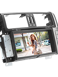 "8 ""2-din dvd player para Toyota Prado 2012 com GPS, Bluetooth, ATV, RDS, 3G, CAN-BUS, ipod, swc, rds"