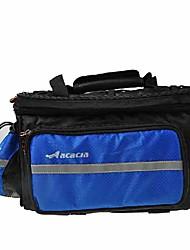 ACACIA 1608D The Highest Density Waterproof Cloth Blue Bike Trunk Bag