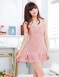 Women's Spandex Lace Straps Sexy Lingerie Nightwear