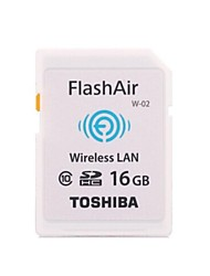 Original Toshiba Flash Air Wireless WiFi 16GB Class 10 SDHC Memory Card