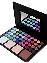 Professional 44 Color Makeup Palette Foundation Powder/Face Powder + Eyeshadow Cosmetic Set