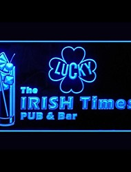 Irish Pub Bar Advertising LED Light Sign