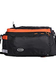 jakroo panno impermeabile sacchetto impermeabile tronco indossabile mountain bike arancione con striscia riflettente