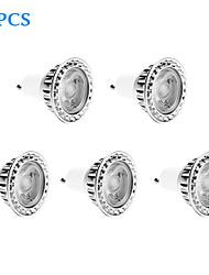 Spot Gradable Blanc Froid 5 pièces GU10 10 W 1 COB 810 LM 6000 K AC 100-240 V