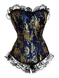 Palácio Princesa Crisântemo padrão clássico Lolita Corset