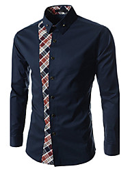 Menmax Men's Mosaic Long Sleeve Shirt