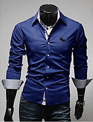 Wshgyy Men's Casual Long Sleeve Casual Shirts