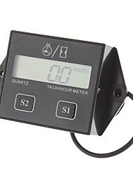Waterproof LCD Screen Display Tachometer Hour Meter for Motorcycle