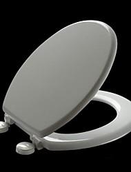 Wood Milano ® Universal Round White Molded Wood Toilet Seat
